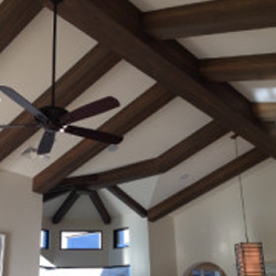 Faux-Wood Beams